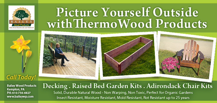 Thermo Woods Non Toxic Raised Bed Gardens