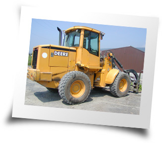Photo of the Johne Deere Loader