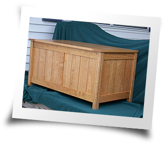 Toybox Made Out Of Cherry And Walnut By Keith Rodgers